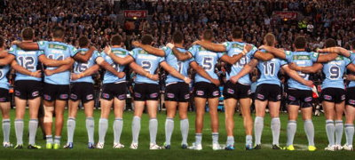 NSW Blues Assistant Coach Brad Fittler In The Lead Up To Origin III 2014