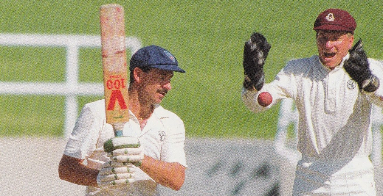 1989 90 Sheffield Shield Steve Small Ian Healy E1541736883917